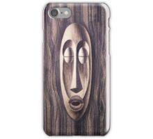 WALL OF TIKI  iPhone Case/Skin