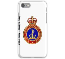 Naval Association of Australia iPhone Case #1 iPhone Case/Skin