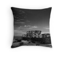 Stranded at Blakeney (Limited Edition) Throw Pillow