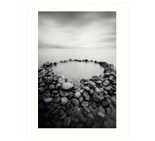The Rock Pool Art Print
