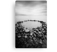 The Rock Pool Canvas Print