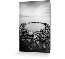 The Rock Pool Greeting Card