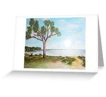 Lake Hindmarsh Greeting Card