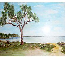 Lake Hindmarsh Photographic Print