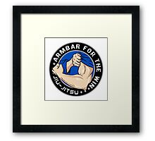 Arm Bar for the Win! Framed Print