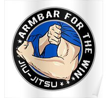 Arm Bar for the Win! Poster