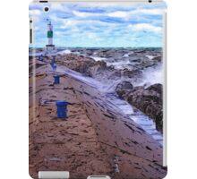 Lake Michigan Storm iPad Case/Skin