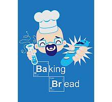 Baking Bread Kawaii Photographic Print