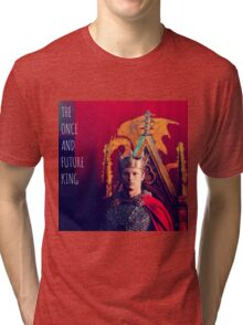 The Once and Future King Tri-blend T-Shirt