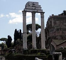 Temple of Castor and Pollux by magiceye