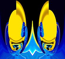 split personality by Wieslaw Jan Syposz