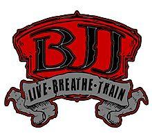 Live, Breathe, Train Photographic Print