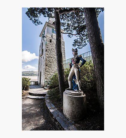 Portmeirion, Nelson Statue Photographic Print