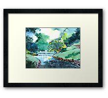 Greens 1 Framed Print