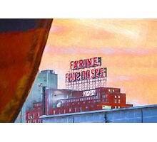 Five roses Photographic Print