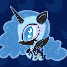 Weeny My Little Pony- Nightmare Moon by LillyKitten