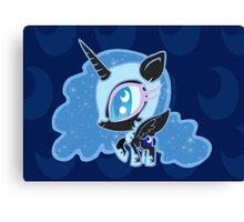 Weeny My Little Pony- Nightmare Moon Canvas Print
