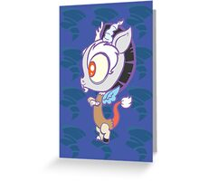 Weeny My Little Pony- Discord Greeting Card
