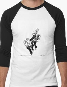 Tao of Pow Men's Baseball ¾ T-Shirt