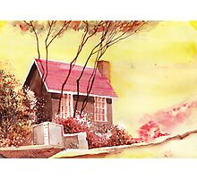 Red House R Photographic Print