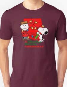 Peanuts Charlie Brown Snoopy Christmas T-Shirt