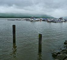 Stormy Hudson River by PineSinger