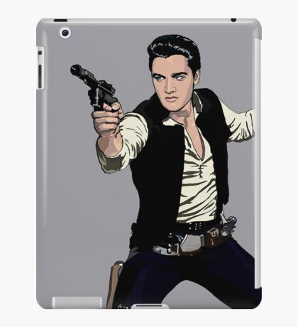 Han Elvis Solo iPad Case/Skin
