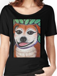 Gracie the Staffy T-shirt Women's Relaxed Fit T-Shirt