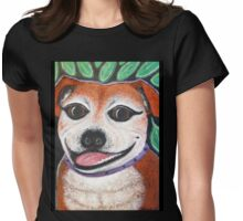 Gracie the Staffy T-shirt Womens Fitted T-Shirt