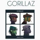 Gorillaz Demon Days by Bila