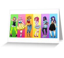 OMG MLP Greeting Card
