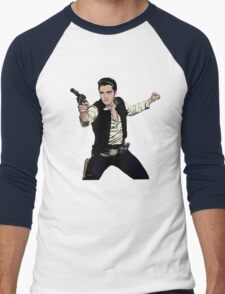 Han Elvis Solo Men's Baseball ¾ T-Shirt