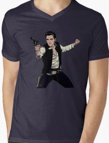 Han Elvis Solo Mens V-Neck T-Shirt