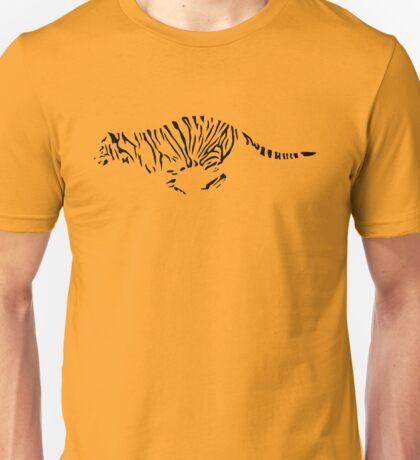 Tiger Outline Unisex T-Shirt