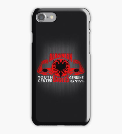 Albanian Eagles Youth Center Genuine Gym iPhone Case/Skin