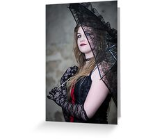 Lipstick & Lace Greeting Card