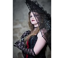 Lipstick & Lace Photographic Print