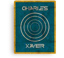 Minimalist Charles Xavier Canvas Print