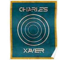 Minimalist Charles Xavier Poster