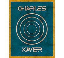 Minimalist Charles Xavier Photographic Print