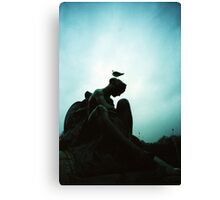 Bird Hair Day - Lomo Canvas Print