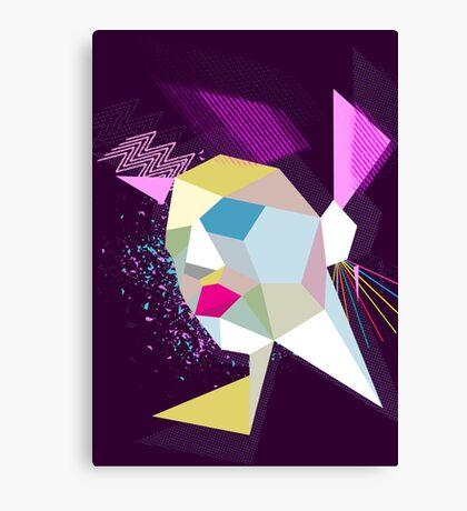 electric face Canvas Print