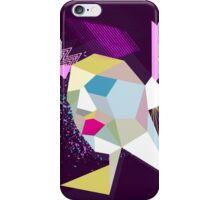 electric face iPhone Case/Skin