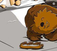 Not now Chewie Sticker