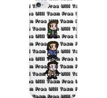 Pixel Team Free Will iPhone Case/Skin