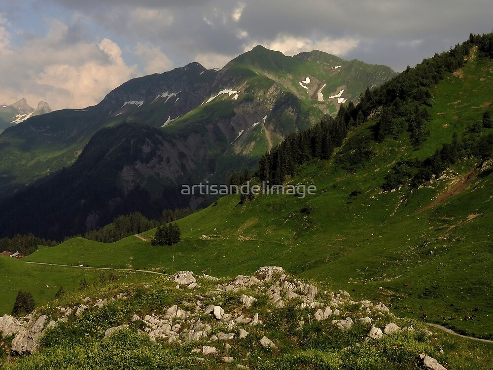 Views From The Alps ~ Part One by artisandelimage