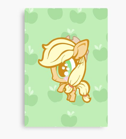 Weeny My Little Pony- Applejack Canvas Print