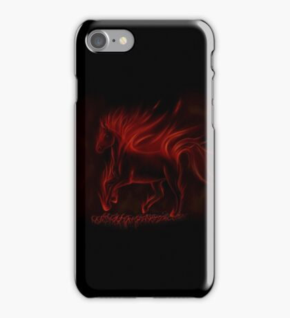 Flame Horse iPhone Case/Skin