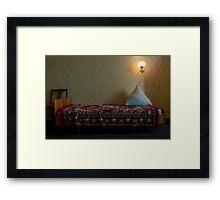 Moldavian Hotel Room Framed Print