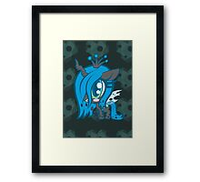 Weeny My Little Pony- Queen Crysalis Framed Print